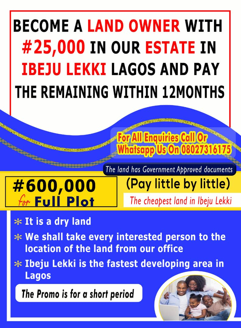 Easiest Way To Become A Landlord In Lagos