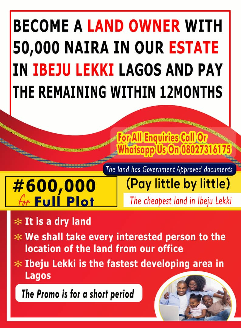 A Great Way To Become A Landlord In Lagos