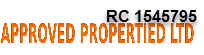 APPROVED PROPERTIES